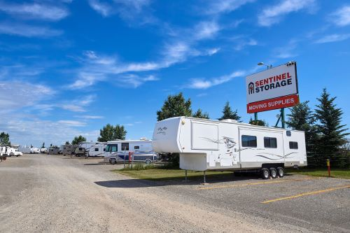 Calgary RV Storage & Trailer Parking